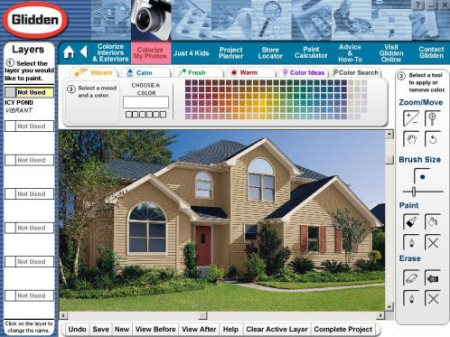 Color A Home Is Free Online Tool That Brings You Innovative Painting Ideas Thereby Letting Create Great Visualization For Your With New