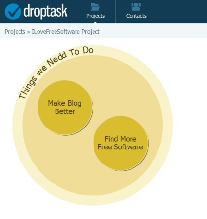 droptask default window