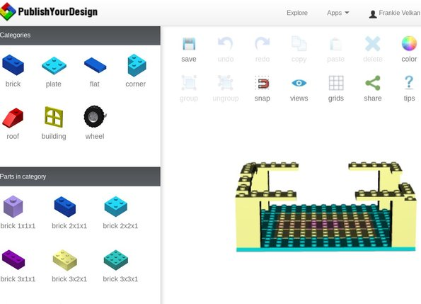 Free Web Based 3D Modeling Software: Publish Your Design