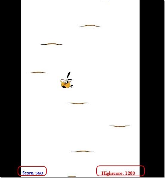 Windows 8 Game App Free: Jumping Bird