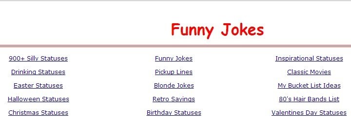 5 Websites To Get Funny Status Updates To Post On Facebook