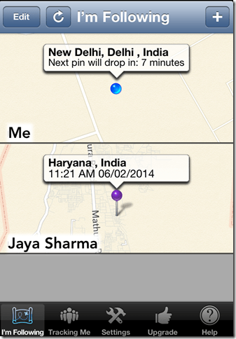 Free GPS Tracker App For iPhone To Track Location of Friends. Family