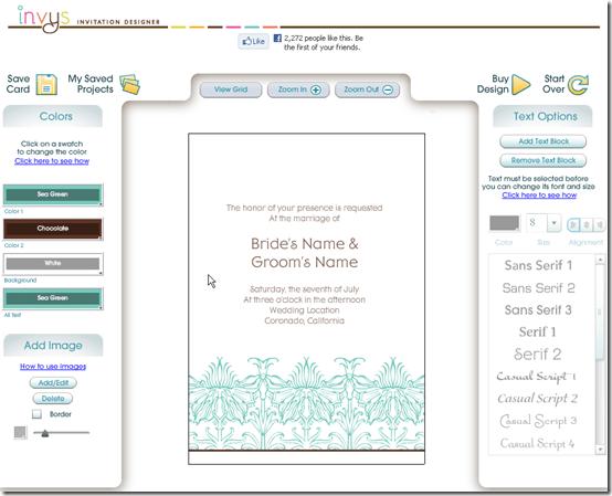 Free Wedding Invitation Dashboard