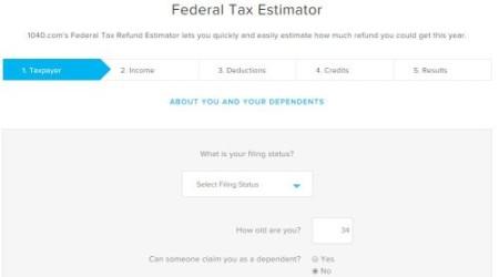 8 Online Tax Refund Calculators