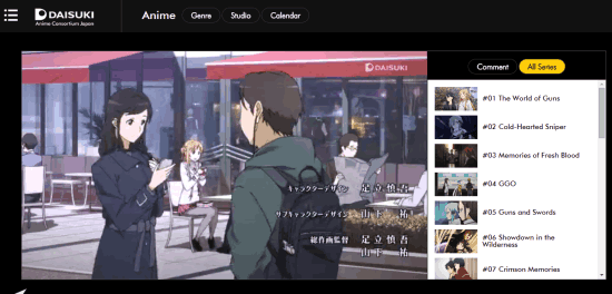 Image of: Hulu The Third Website In The List To Watch Anime Online For Free Is Daisuki This Website Lets You Browse For Anime Series On The Basis Of Genre Studio Phreesitecom Free Websites To Watch Anime Online For Free