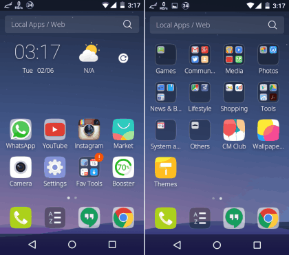 5 Free Android Launchers to Auto-categorize Apps
