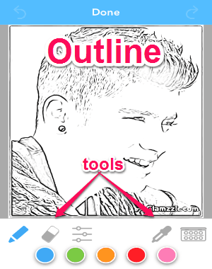 Convert Your Photos Into Coloring Pages Iphone I Love Free Software