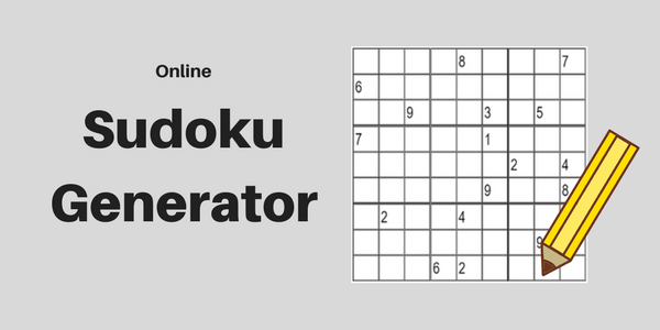 5 Sudoku Generator Websites to Create Sudoku Online