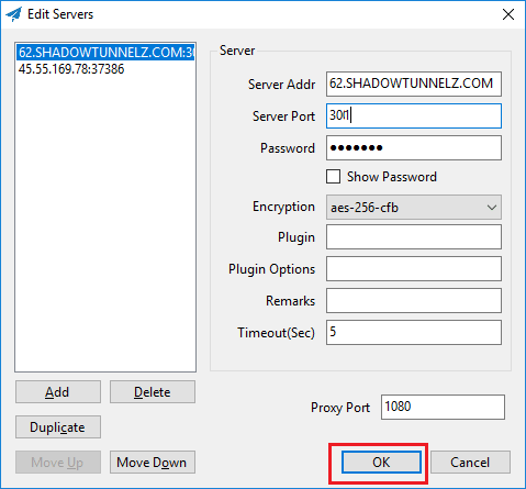Free Software to Enable Encrypted Socks5 Proxy on Windows