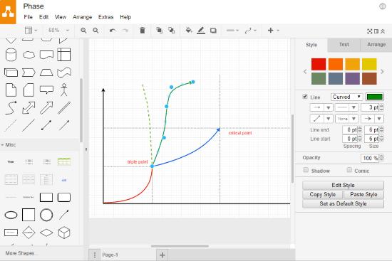google online diagram editor
