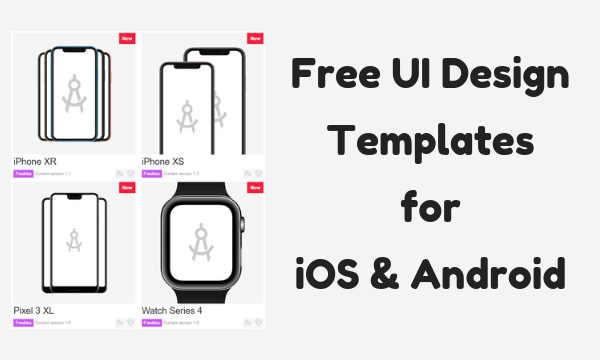 5 Websites to Download Free UI Design Templates for iOS