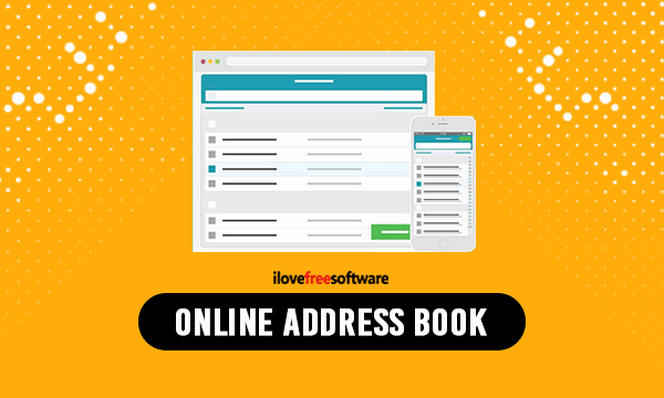 Online Address Book to Get Address. Contact Information of People by Sharing a Link