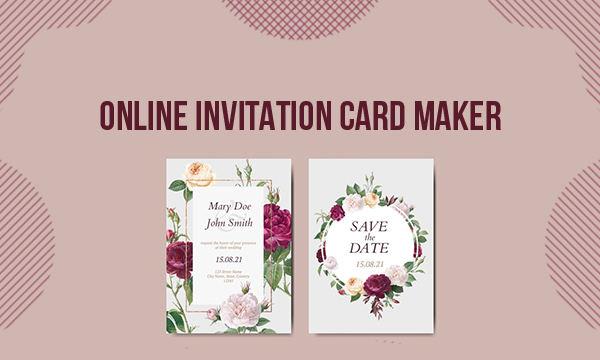 5 Online Invitation Card Maker Websites