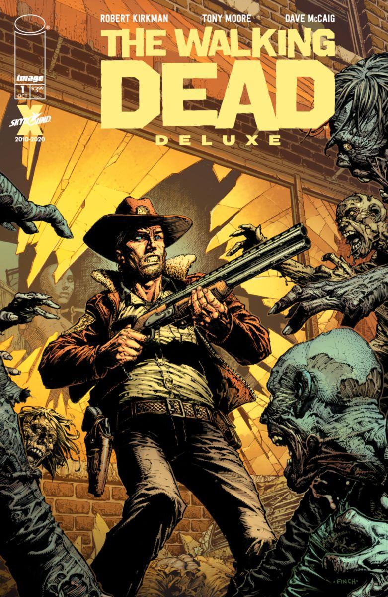 The Walking Dead Ddl : walking, WALKING, SERIES, COLOR, FIRST, OCTOBER, Image, Comics