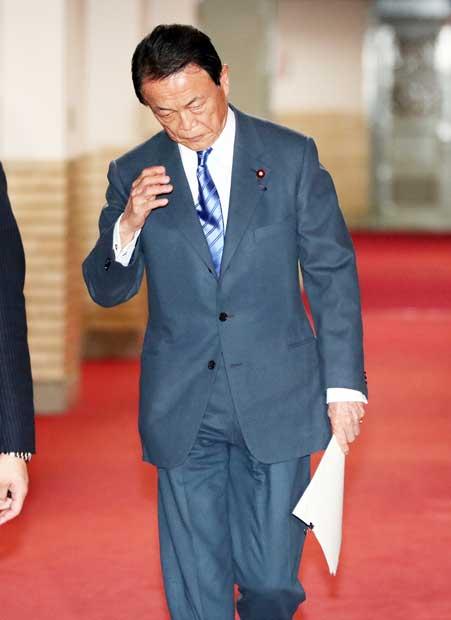 麻生太郎財務相のこだわりスーツを、ドン小西が「あっぱれ」と評価 〈週刊朝日〉 AERA dot. (アエラドット)