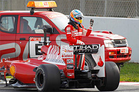 alonso stoped