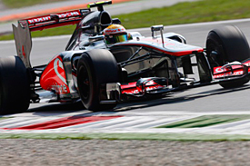 Lewis Hamilton, Monza, 2012