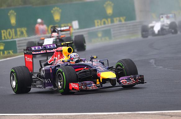 Daniel Ricciardo, Hungarian GP