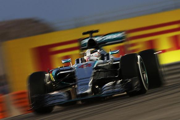 Lewis Hamilton, Mercedes, Bahrain GP 2015