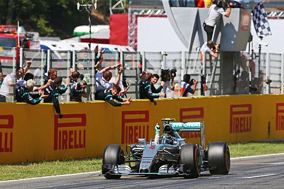 Nico Rosberg wins 2015 Spanish GP for Mercedes