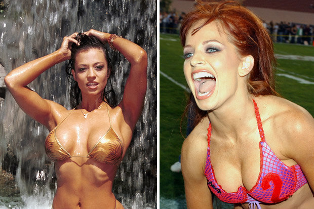 Candice Michelle and Christy Hemme
