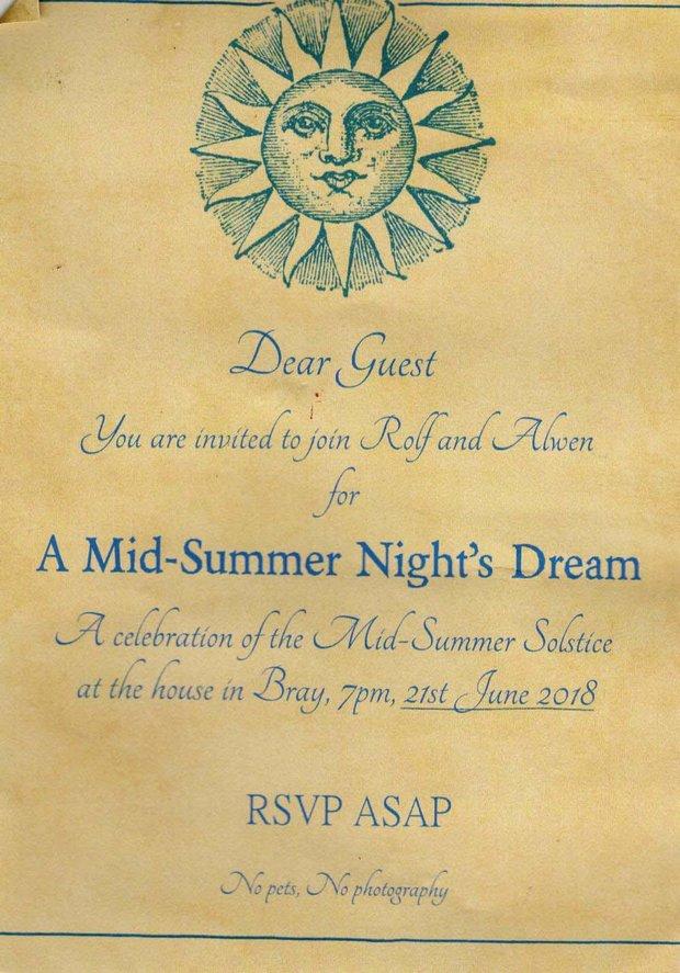 Rolf harris solstice invite