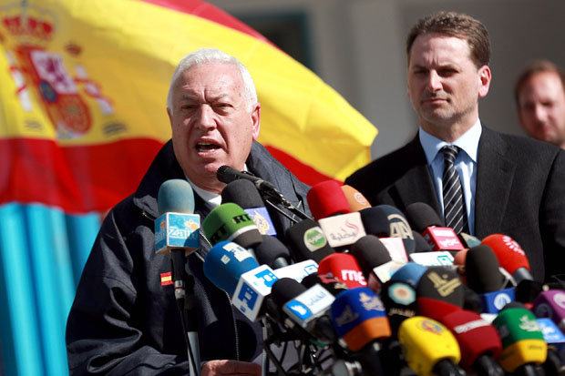 Foreign minister Jose Manuel Garcia-Margallo