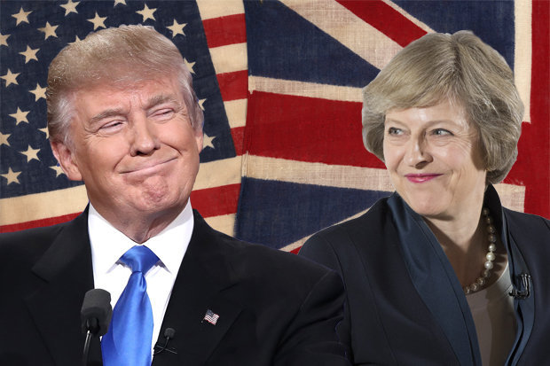 Image result for may theresa trump