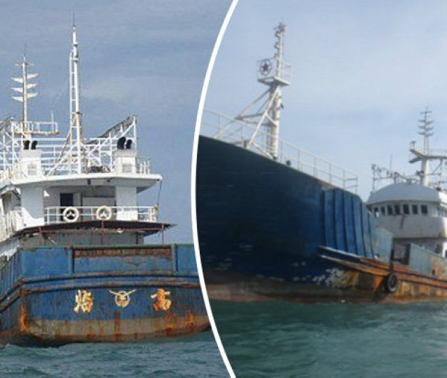 Mystery As Empty Ghost Ship Found Drifting At Sea With Lights Still On