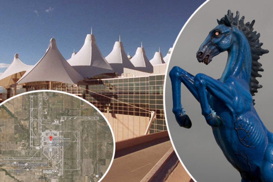 Denver International Airport At The Centre Of An NWO