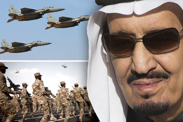 Saudi jets, soldiers and King Salman bin Abdulaziz Al Saud