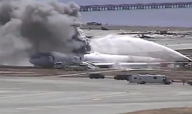 San Francisco plane crash video released