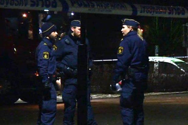 Bomb blast in Stockholm, Sweden
