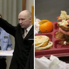 Reclining Gaming Chair Glider Rocking Cushion Pattern Anders Breivik Says Norway Prison Meals Worse Than Waterboarding | Daily Star