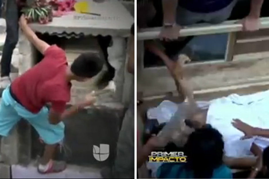 Dead girl buried alive screams for help as locals smash open coffin  Daily Star