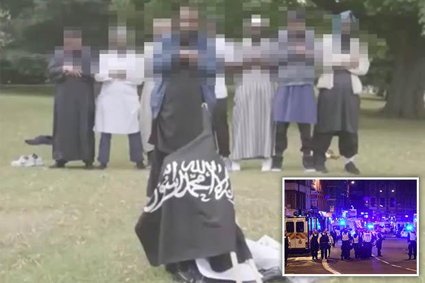 Les sympathisants d'ISIS dans Regent's Park