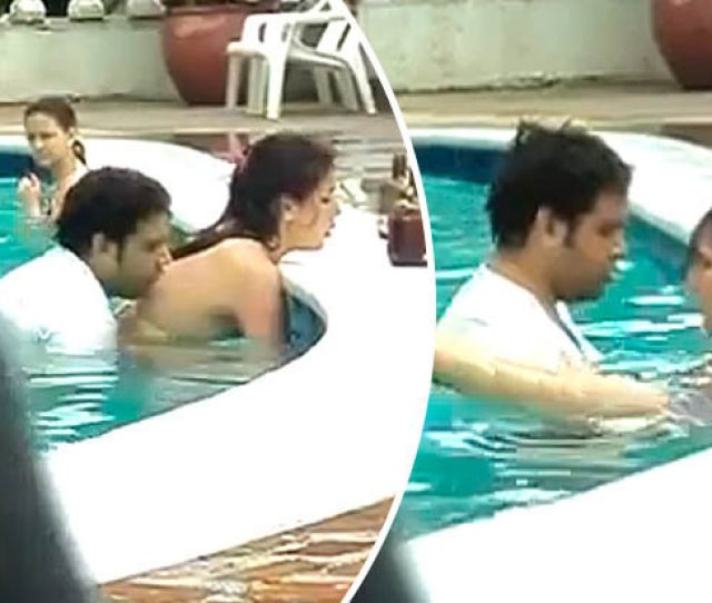 Couple Caught In Swimming Pool Having Sex