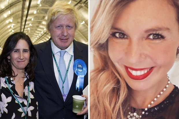 Resultado de imagen para Fotos de Boris Johnson y su pareja, Carrie Symonds