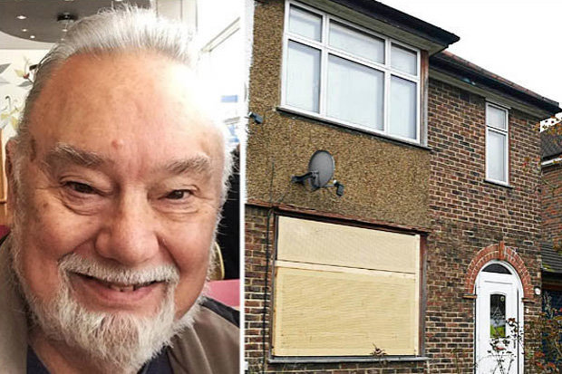 Richard Osborn-Brooks' property in Hither Green