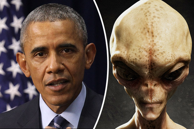 Image result for aliens and obama