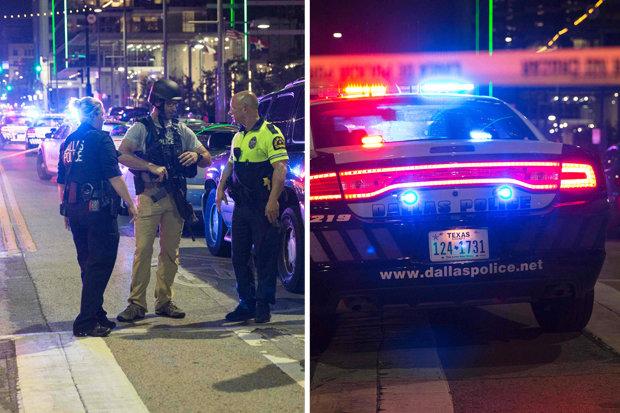 Police shooting in Dallas