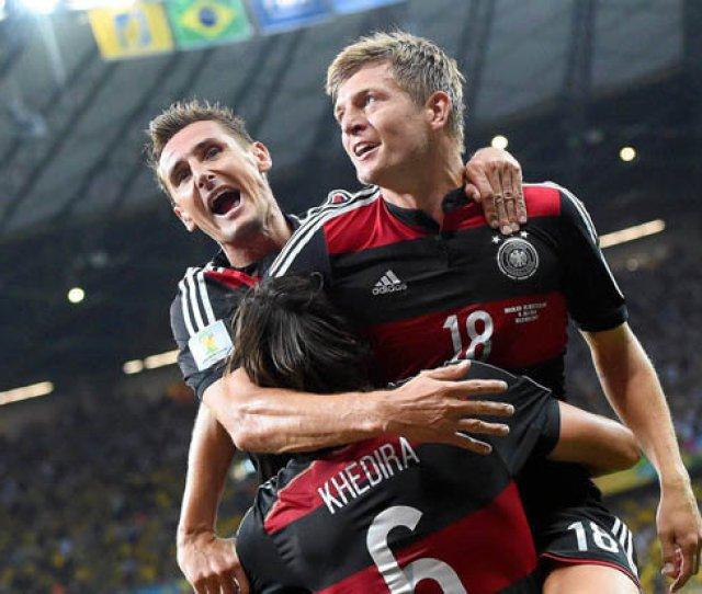 Sport Football World Cup Germany Ozil Kroos Muller Brazil