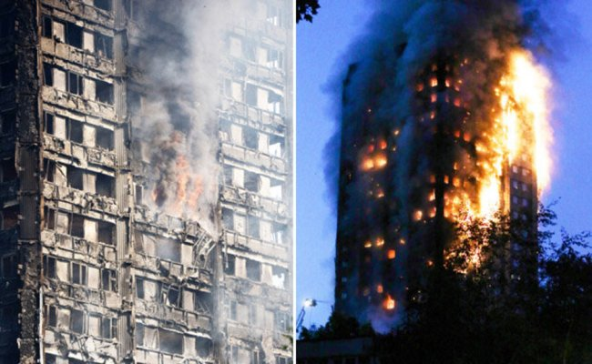 Grenfell Tower Fire Cladding On Doom Flats Could Have
