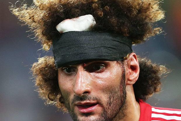 Man Utd News Marouane Fellaini Haircut Blasted Fing