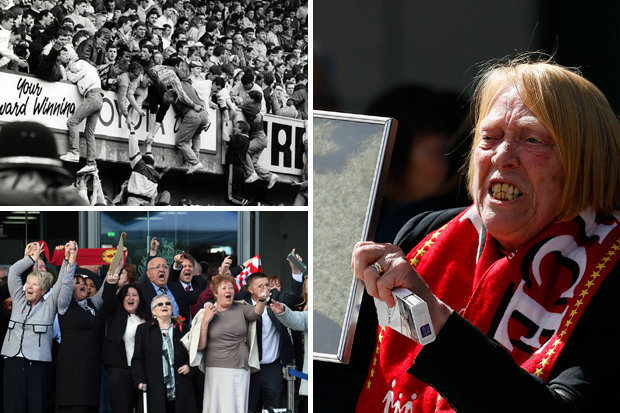 Hillsborough disaster myths and 96 Liverpool fan death