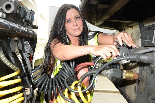 Meet Britains Sexiest Trucker Kara From Derbyshire