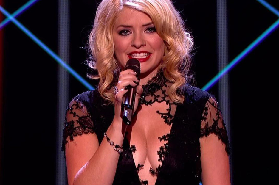 Holly Willoughbys boobs grab 9m viewers for The Voice  Daily Star