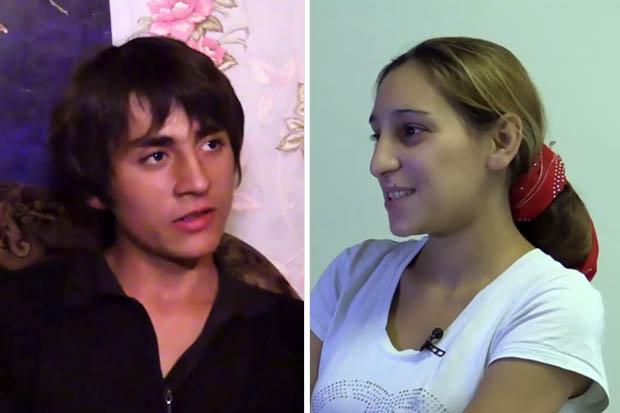 Zabar K and Bilana B, Russian gypsies