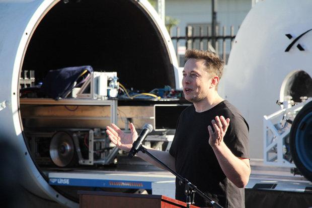 Tesla Car In Space Wallpaper Hyperloop Coming To New York As Elon Musk Reveals Verbal