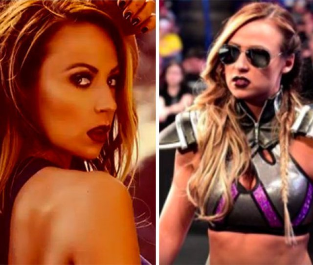 Wwe Wrestling Star Emma Became Emmalina During An Announcement At Raw